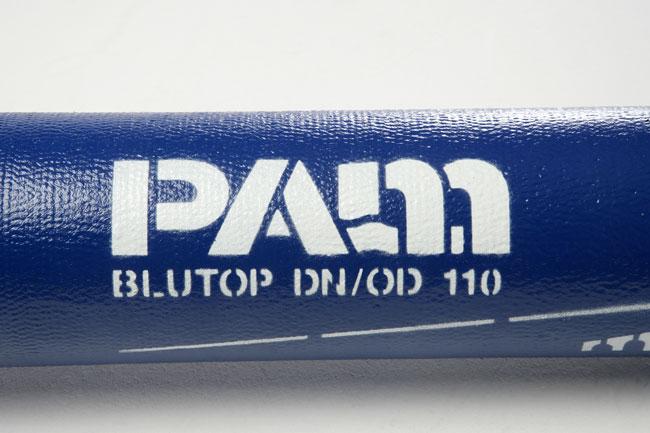 markering van een buis blutop