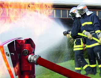 Pompiers protection incendie Saint-Gobain PAM
