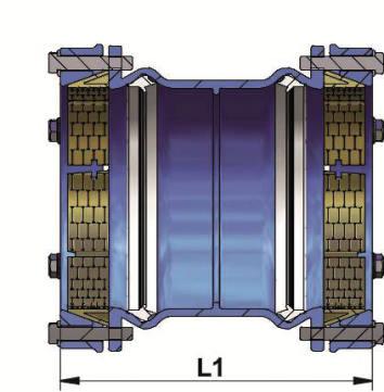 Schéma manchon, liaison, LINK PE, tubes PE, verrouillé