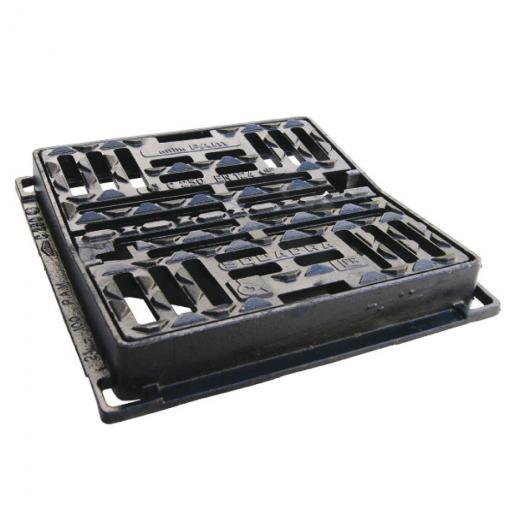 SQUADRA ® C 250 - Grilles concaves à cadre plan adaptées aux personnes à mobilité réduite