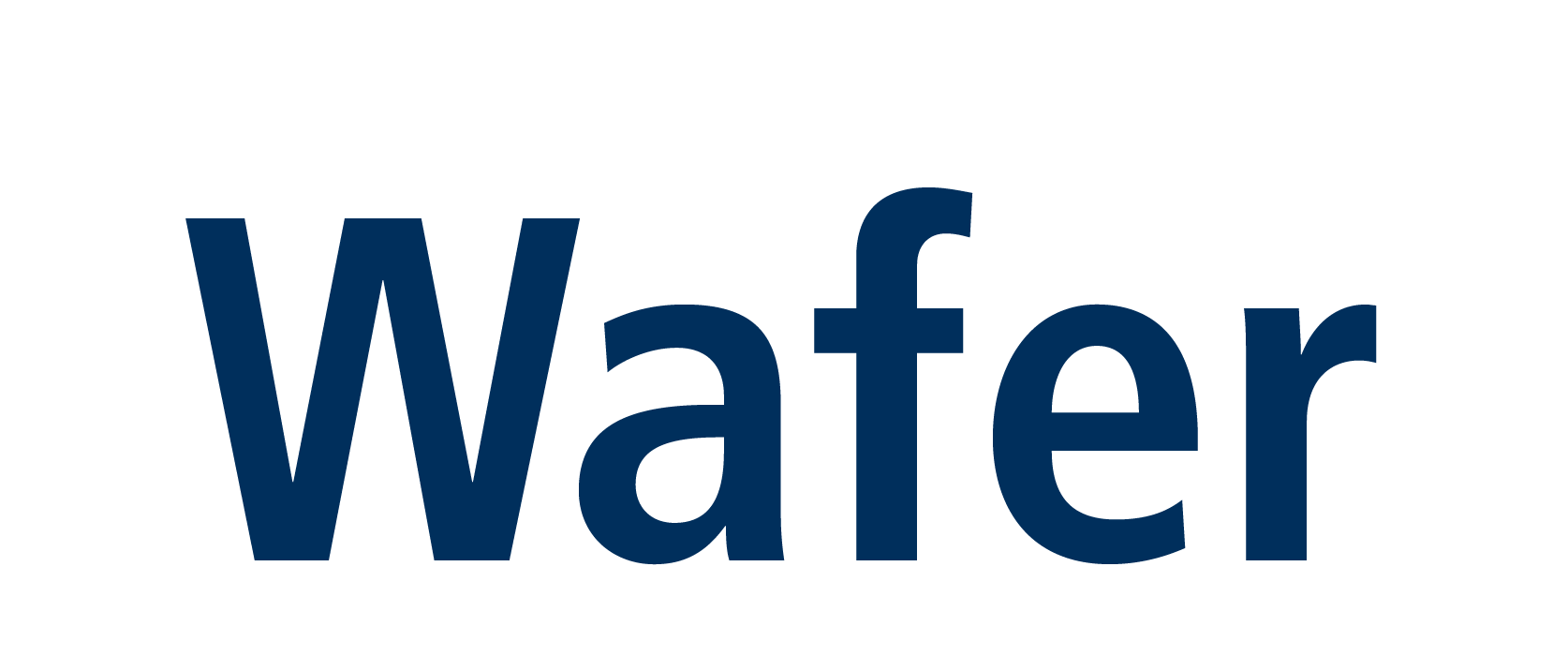 Logo de la gamme WAFER